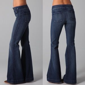 7 For All Mankind Erin Flare Jeans | Boheme Blue